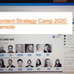 Content Strategy Camp 2020: Mein Rückblick